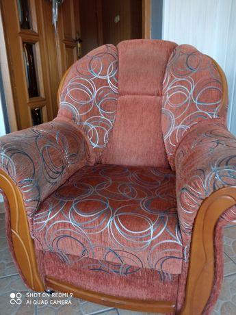 Fotele brązowe 2szt.