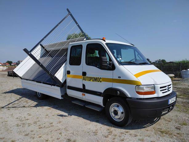 Renault Mascott 110 Wywrotka 3-stronna nowe burty DMC 6t Pomoc Drogowa