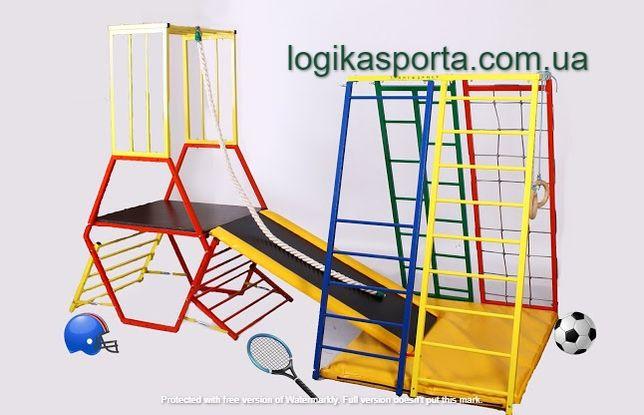 Горка, Игровая площадка, детский спортивный комплекс для двора и дома