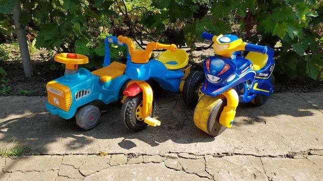 Толокар - детская машинка, велосипед, мотоцикл