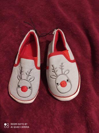 Новая Обувь для новорожденных новогодняя р20 пинетки,ботинки, мокасины