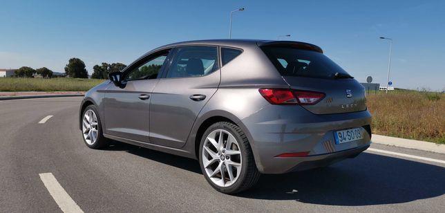 Vendo Seat Leon 1.6 TDI 115cv Jantes 18 FR Apenas 45mil KM de 2017