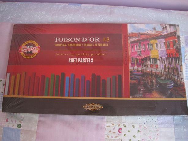 Zestaw pasteli Toison D'or firmy Koh I Noor