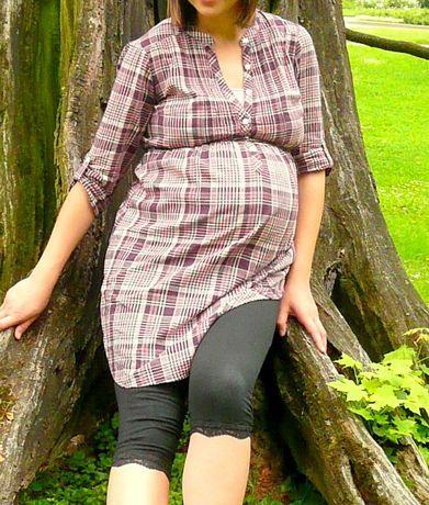 koszula tunika ciążowa H&M MAMA 38 M