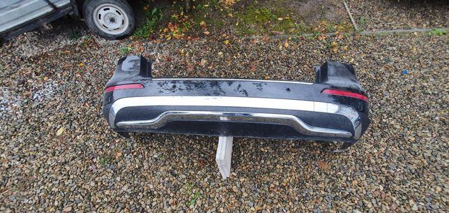 Бампер задній Mercedes ml w166