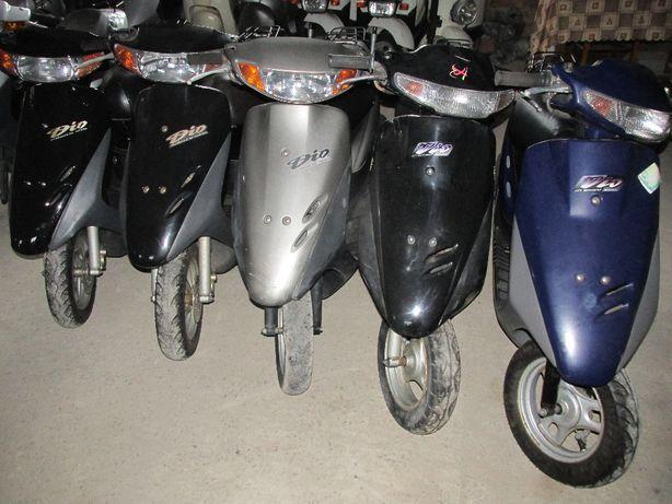 Разборка японских скутеров, мопедов, б у запчасти хонда дио 27 ,34