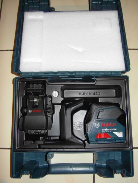 Laser krzyżowo punktowy Bosch GCL 2-15 G + RM1 + BM3 Gwarancja
