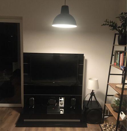 Podświetlany regał TV