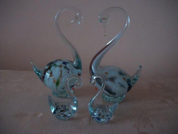 Лебединая семья(стекло)