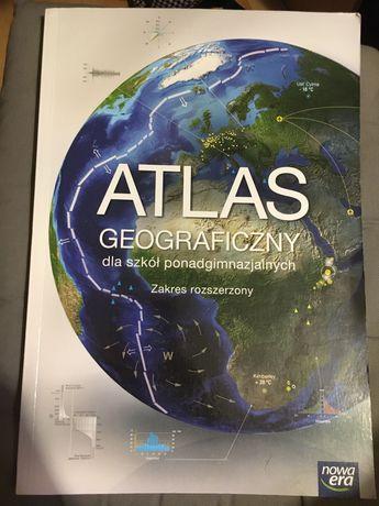 Atlas do geografii rozszerzonej NOWA ERA