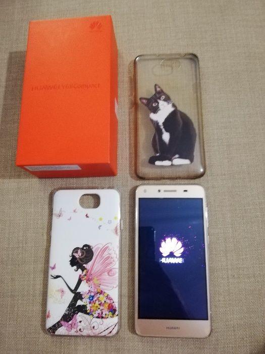 Vendo Telemóvel Huawei Y6 II Compact Gold Falagueira-Venda Nova - imagem 1