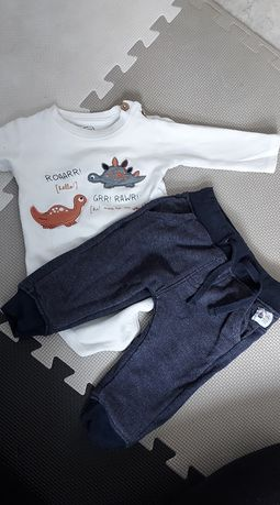 Komplet body spodnie 74 Cool Club
