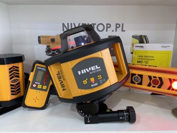 Zestaw do Koparki Niwelator laserowy NIVEL SYSTEM NL500 Detektor MC-1D