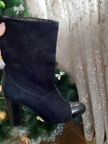 Ботинки чулки 36р