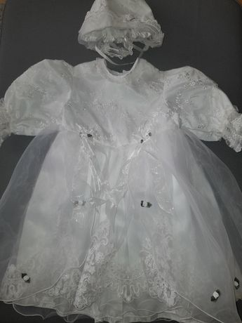 Sukienka do chrztu rozmiar 80 NOWA