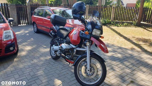 BMW GS bmw R1100GS od motocyklisty