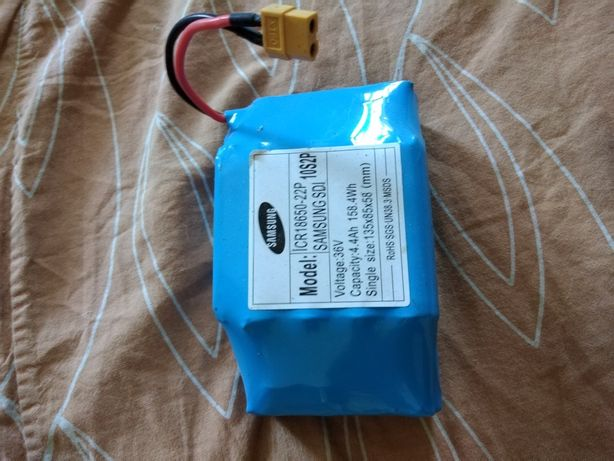 Меняю аккумулятор 36v 4,4Ah,новый на электродвигатель для пилорамы