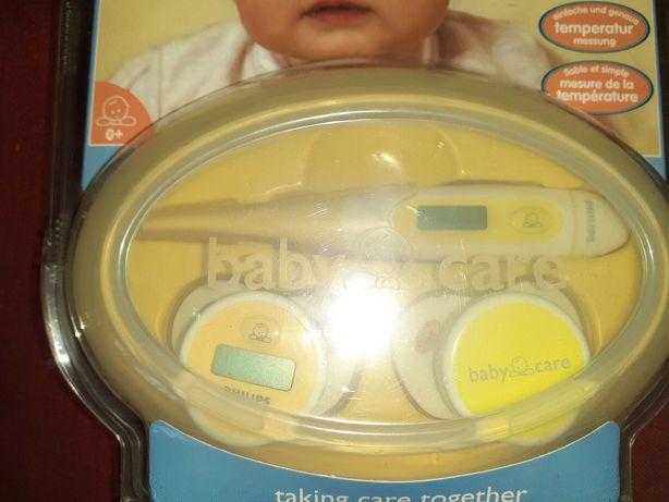 Philips Zestaw Termometrów Baby Caredla niemowląt i dzieci!Nowy
