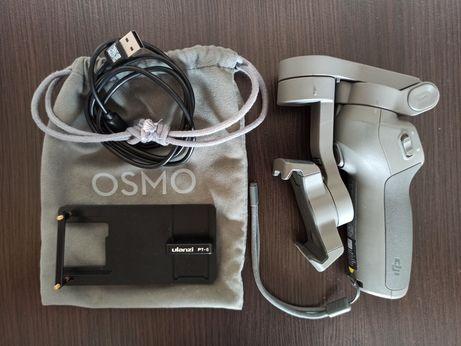 DJI OSMO MOBILE 3 gimbal stabilizator do telefonu z adapterem do gopro