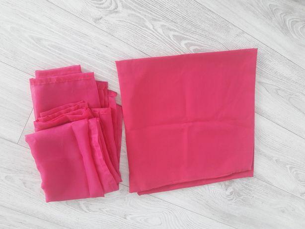 Zasłony różowe 100x140