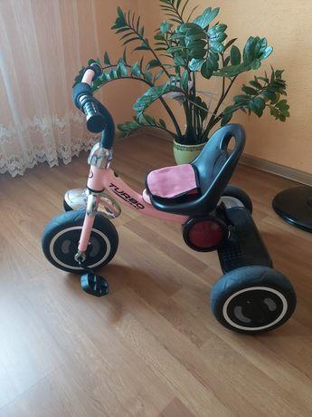 Дитячий музикальний велосипед