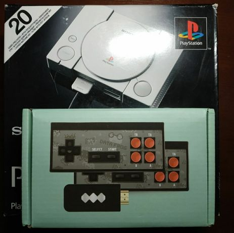 Sony Playstation one & Nintendo 8 bit