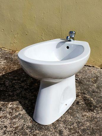 Bidé + torneira wc