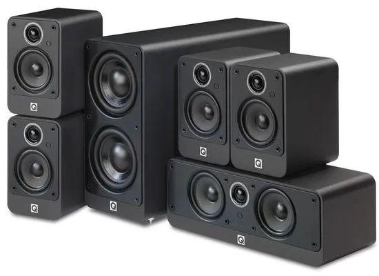 Zestaw kina domowego 5.1 głośniki q acoustics