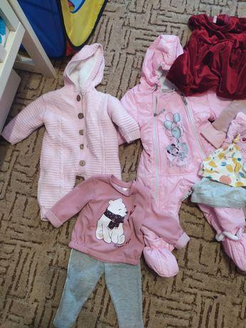 Вещи на девочку 6-9 месяцев, осень-зима