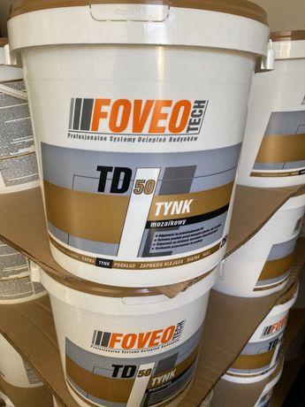 Tynk 25kg mozaikowy Foveo-Tech 25kg wszystkie kompozycje