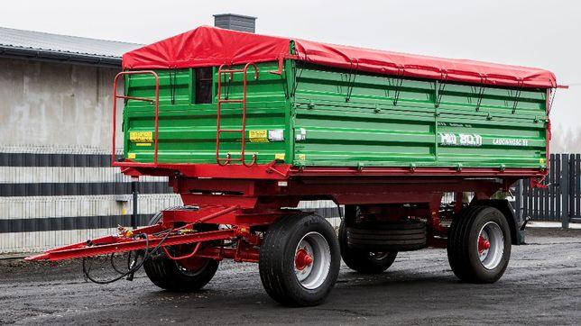 Przyczepa Rolnicza HL HW 3 Stronny Wywrot 6011 Ładowność 8 HW 8011 IFA