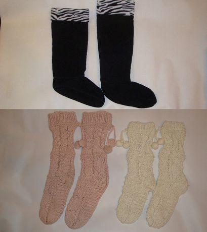 Теплые носки, Утеплители, Вкладыши для резиновых сапог.
