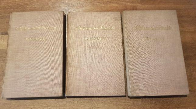Aleksander Puszkin Dzieła wybrane Wiersze Poematy Opowieści 1953
