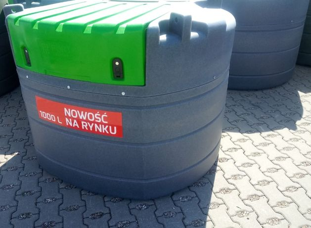 Zbiornik do paliwa 1000, 1500 L dwupłaszczowy