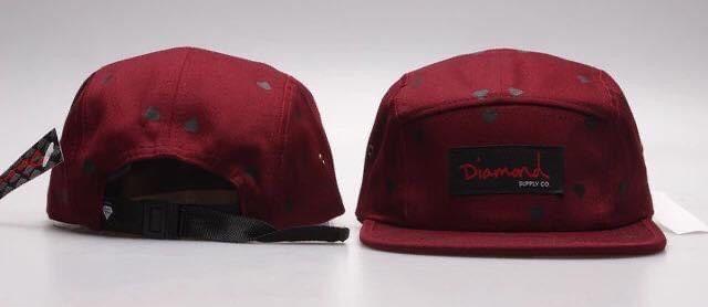 Boné Snapback Diamond, cap chapéu