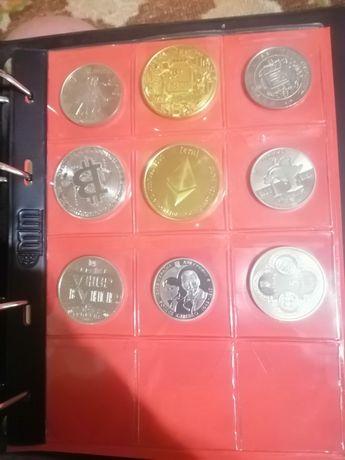 Юбилейные украинские монеты