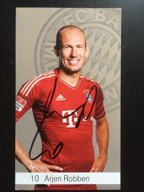 Autograf Arjen Robben Bayern Monachium