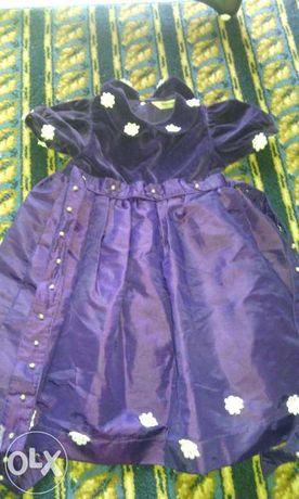 Fioletowa sukienka rozm 98 H&M