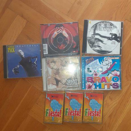 Wykopki plyty cd i kasety