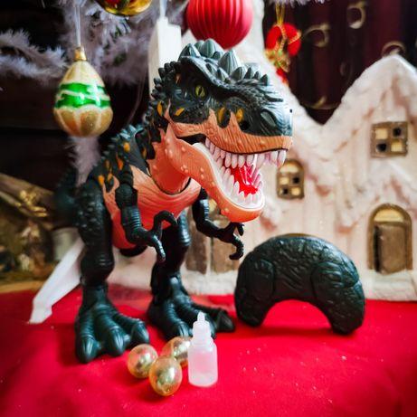 Novos Dinossauros R/C - Põe Ovos e deitam Fogo!