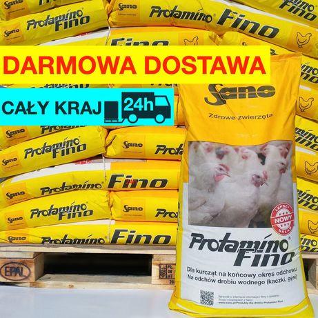 Sano Protamino Fino 25kg koncentrat na odchów dla kurcząt, kaczek gęsi