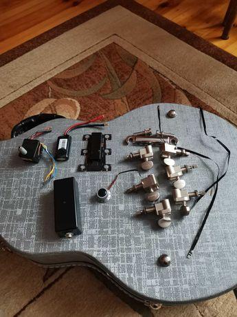 Gibson les paul robot system strojenia