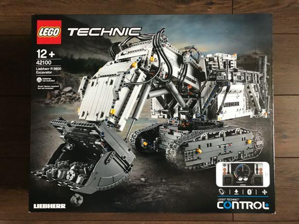 LEGO Technic 42100 Koparka Liebherr R 9800 - NOWE