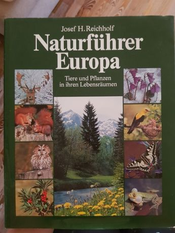Naturfuhrer Europa - справочник на немецком языке