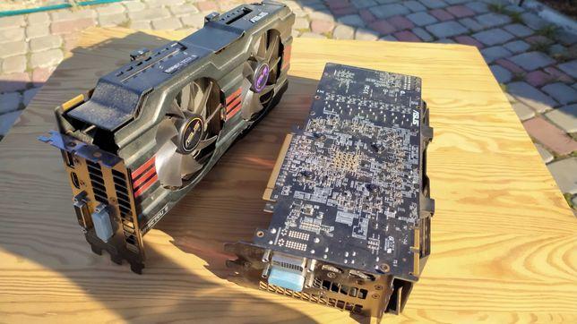 Видеокарты Radeon Asus/Sapphire/HIS 7950 (R9 280)