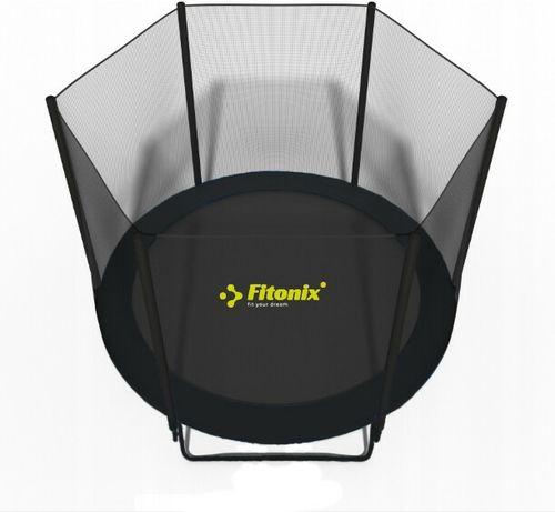 Батут Fitonix 252 см Усиленный + сетка. Наложка! Купуй Українське!