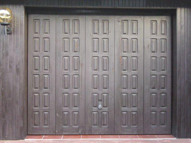 Brama garażowa stan dobry bez uszkodzeń + oprzyrządowanie i klucze
