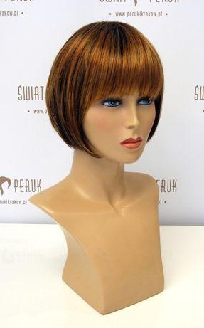 Peruka półdługa z włosa syntetycznego Włoszczowa