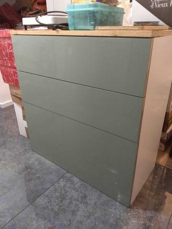 Fronty do szuflad szafki kuchennej METOD z Ikei