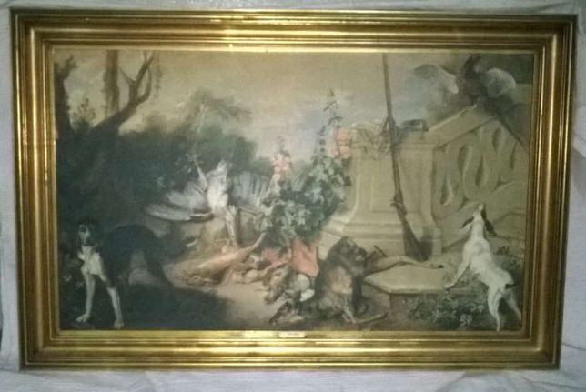 Quadro The Dead Roe de Jean-Baptiste Oudry